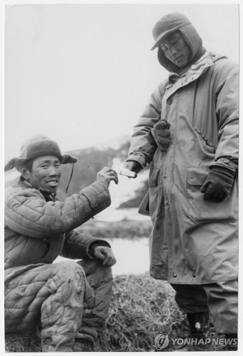 Horrible scenes from Korean War