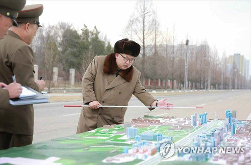 NK leader declares construction of Ryomyong Street