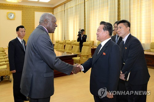Cuban delegation visits N. Korea