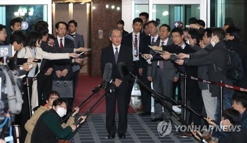 """나가미네 일본대사 """"한일합의 이행 강력 요구할 생각"""""""