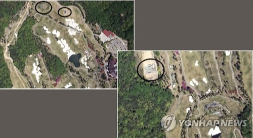 N.K. discloses satellite photo of S. Koea's THAAD battery