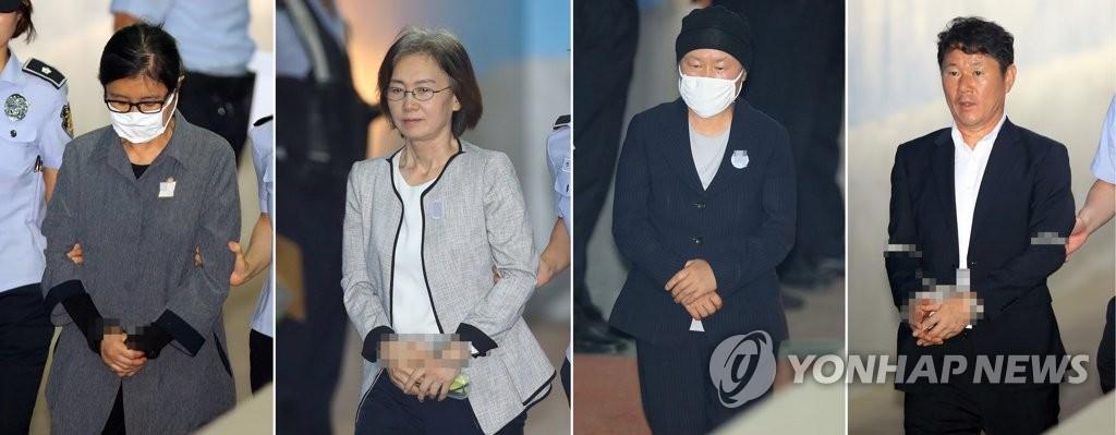 실형 선고 받은 '정유라 학사비리' 관련자들