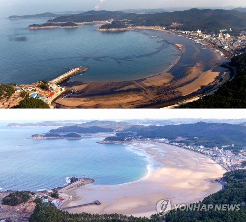 Miracle of 10 years in Taean