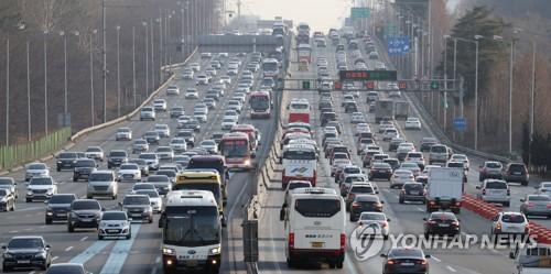 Lunar New Year traffic