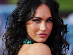 Beautiful Hair Style of Megan Fox