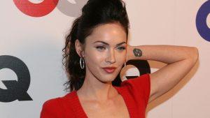 Megan Fox Tattoo in Hand Pics