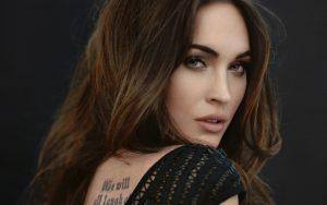 Megan Fox Tattoo on Back Side