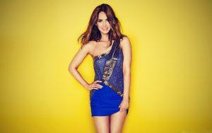Megan Fox in Blue Dress Photo