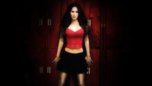 Megan Fox in Red and Black