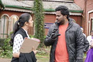 Ponmagal Vandhal Movie Working Stills3