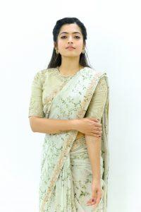 Rashmika Mandanna Beautiful Pics In Saree3