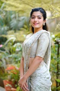 Rashmika Mandanna Beautiful Pics In Saree8