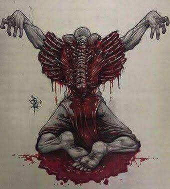THE RAGNAR LOTHBROK Blood Eagle