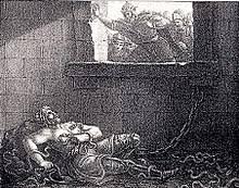 THE RAGNAR LOTHBROK Death