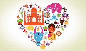39614 i love india indian culture 1