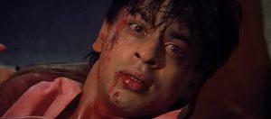 Shah Rukh Khan as Rahul Mehra in darr