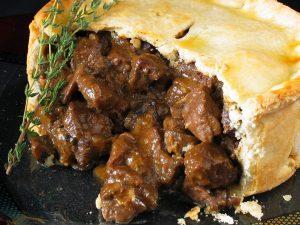 England: Steak and Kidney Pie