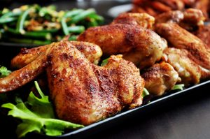 Fried, grilled, or broiled meals