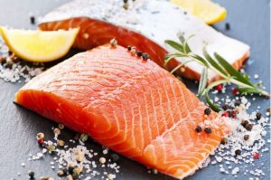 Salmon and oily fish: