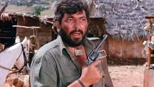 Ajmad Khan as Gabbar in Sholay