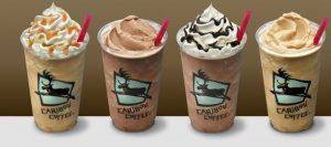 High-calorie espresso drinks: