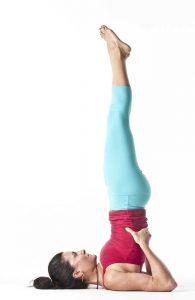 • Sarvangasana (Shoulder Stand Pose)