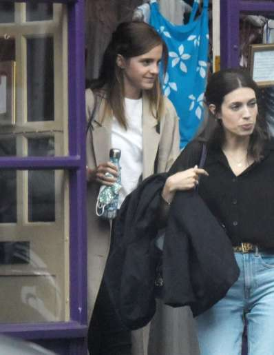 Emma Watson Spotted Shopping At Tallulah Lingerie In North London