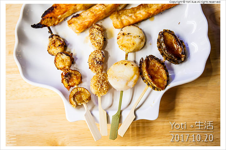 [花蓮東大門夜市] 花蓮銅板燒干貝 | 頂級海鮮燒烤通通只要銅板價!〈試吃邀約〉