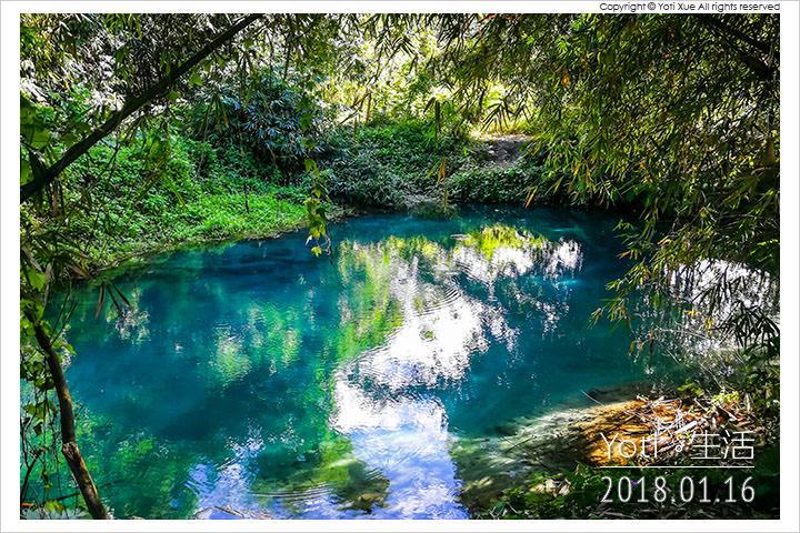 [花蓮光復] 拉索埃湧泉生態園區   藍色眼淚所編織出的愛情神話與千年傳說