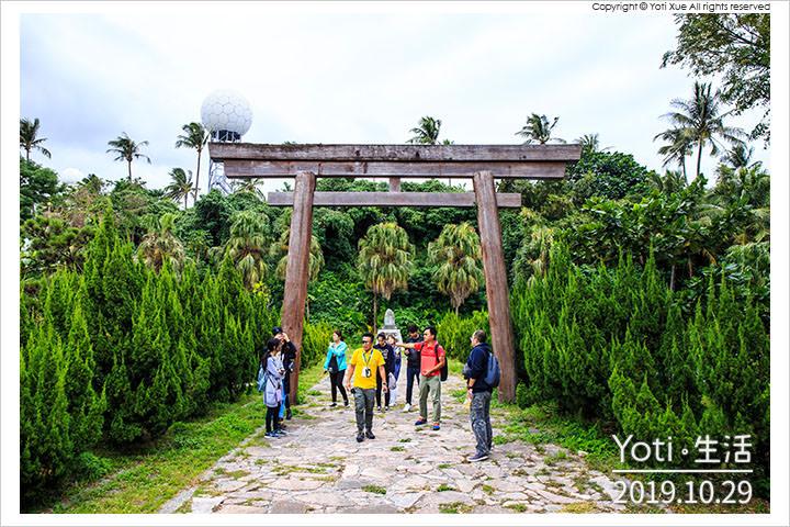 [花蓮美崙] 花蓮港鳥踏石公園 | 市區唯一日本鳥居, 兩潭自行車道必經的日式花蓮景點