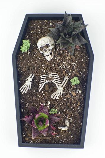 افكار لتابوت الموتى ليكون جزء من ديكورات احتفالك