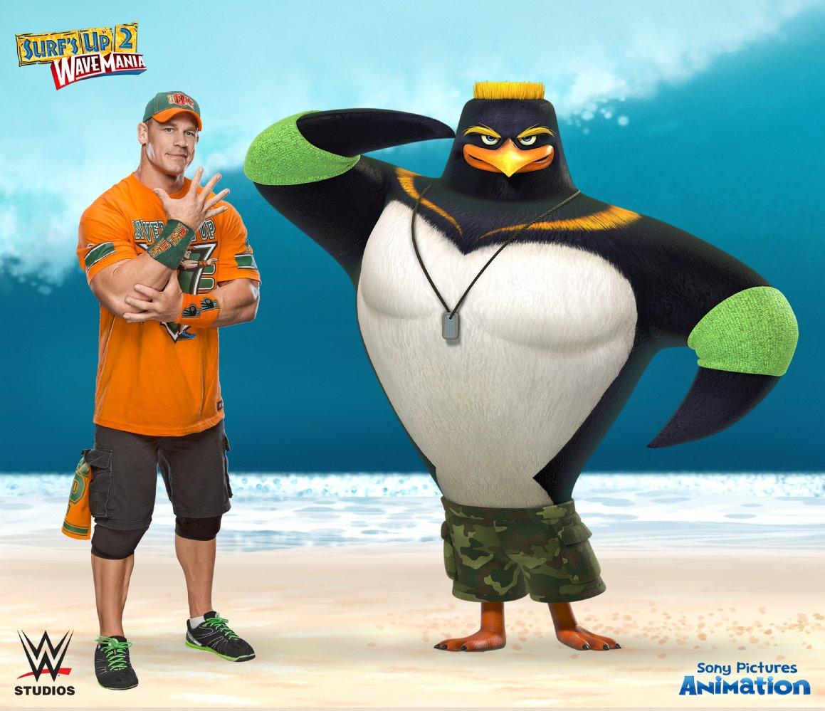 جون سينا في فيلم Surf
