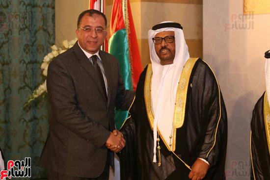الدكتور أشرف العربى وزير التخطيط وسفير الأمارات
