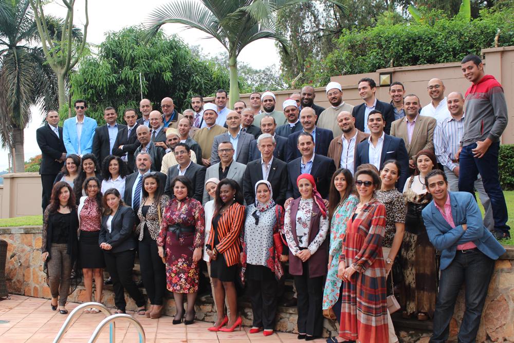 لقاء سفيرة مصر فى أوغندا بأبناء الجالية