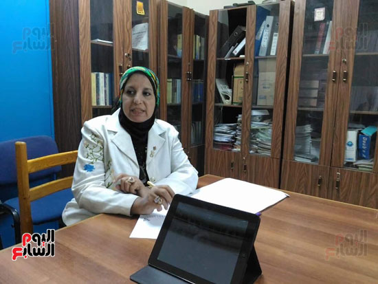 الدكتورة سحر عبد المولى مقرر المجلس القومى للمرأة بأسيوط