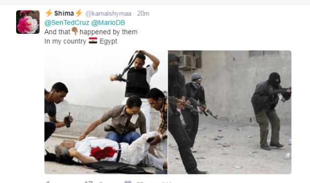 صور لعنف الإخوان ضد الشرطة المصرية