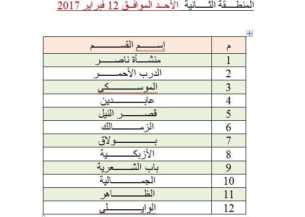 محافظة القاهرة المنطقة الثانية