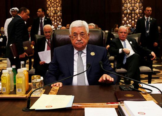أبو مازن الرئيس الفلسطينى