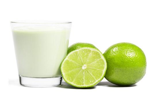 الليمون والحليب