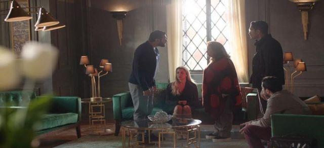 مشهد من مسلسل عشم إبليس