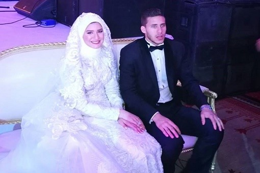 15 صورة لا تفوتك فى حفل زفاف رمضان صبحى وحبيبة إكرامى اليوم السابع