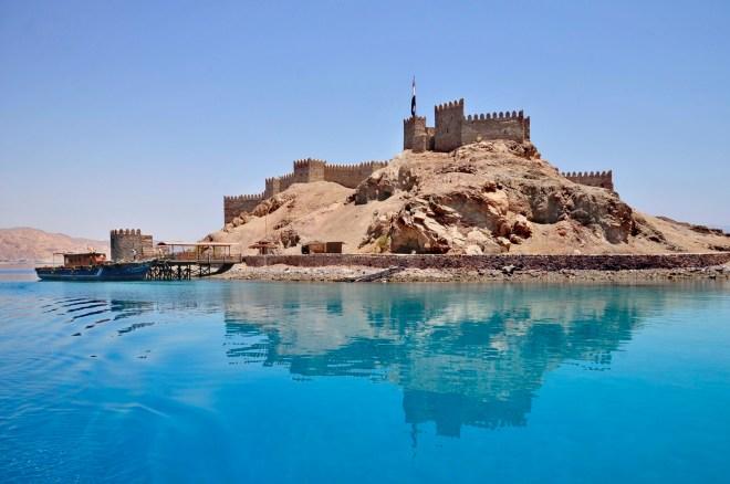 قلعة صلاح الدين بجزيرة فرعون فى طابا