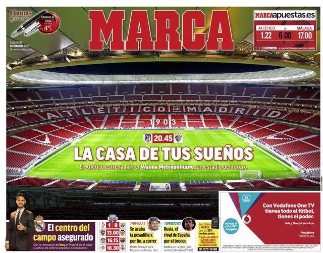 غلاف ماركا الاسبانية