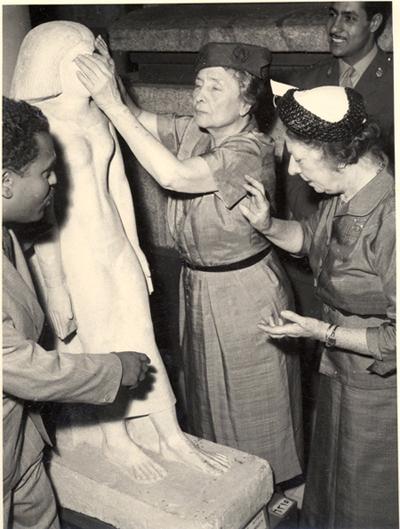 هيلين فى المتحف المصرى