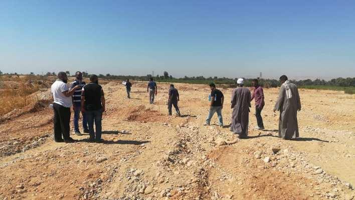 تسليم قطع أراضي جديدة في منطقة البغدادي الصناعية  (1)