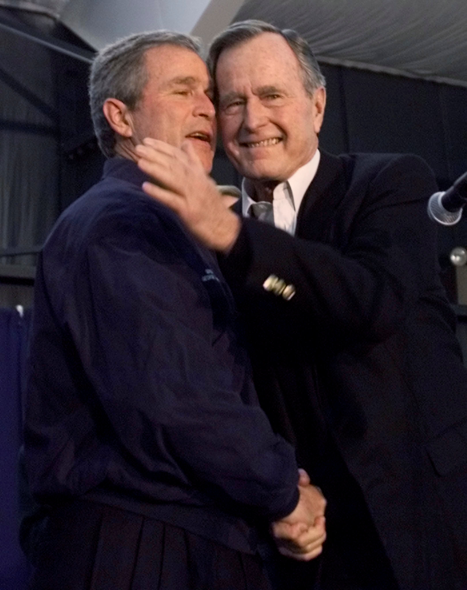 جورج بوش الأب  الرئيس الأمريكى الأسبق  (2)