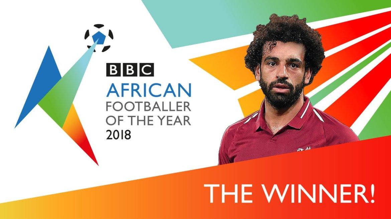 محمد صلاح أفضل لاعب فى افريقيا
