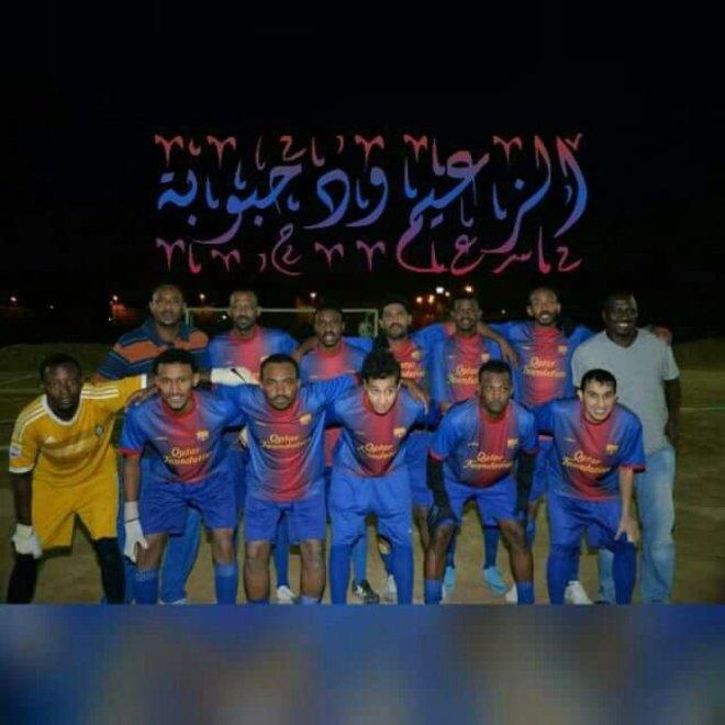 أحمد أشرف مع فريق ود حبوبة