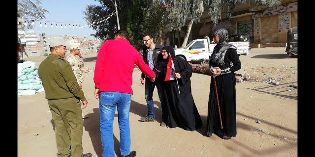 الحاجه سبيله المتبرعه بثروتها بالكامل إلى صندوق تحيا مصر (2)