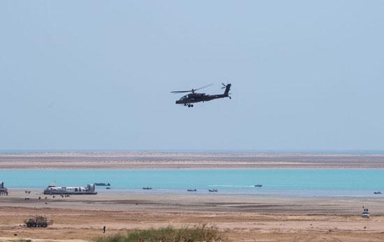 القوات الجوية المشاركة فى فعاليات تمرين درع الخليج المشترك 1